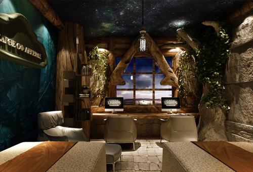 主题酒店+电竞:河南W+电竞酒店设计效果图