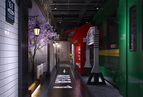 61.Street 电竞酒店装修设计效果图