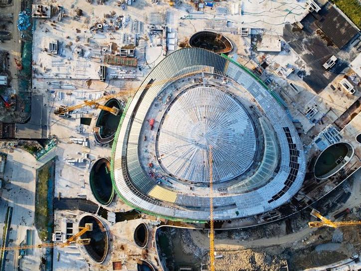 """杭州亚运""""电竞馆""""竣工在即 将举办8个电竞项目比赛"""