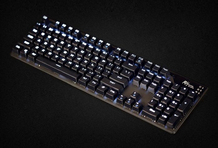 RK ROYAL KLUDGE RG928背光式 网咖机械键盘白光青轴