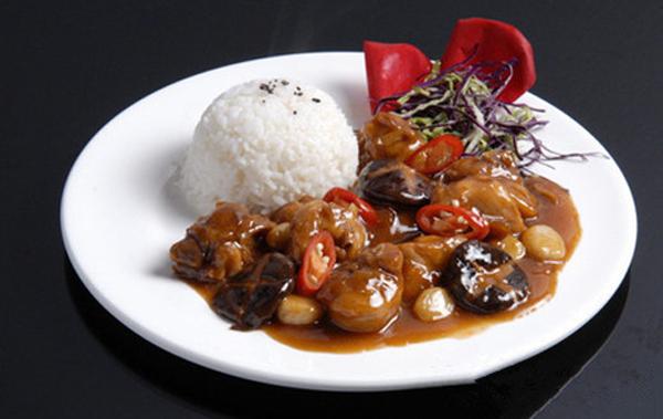 网咖中式简餐料理包卤肉饭 加热即食 出餐速度快简单方便