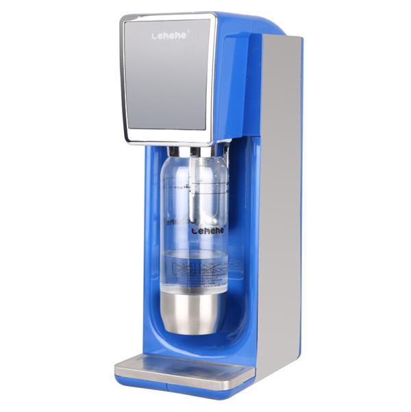 网咖水吧苏打气泡水机,简约时尚的外观;下压式喷气设计,可保压