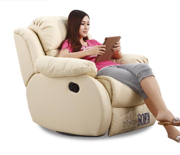 网咖私人影院多功能 头等舱沙发 真皮电动影院沙发