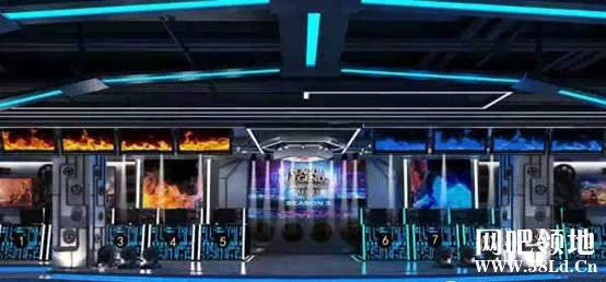 重庆首家电竞主题网吧:圣光之城网吧