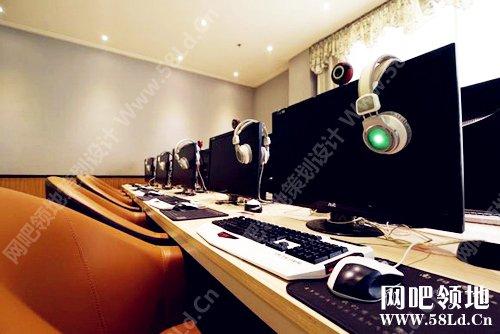 网咖案例 河南飞翔数字生活电竞馆装修设计实景图高清图片