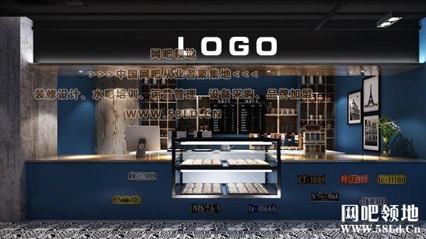 咖啡吧台设计图展示