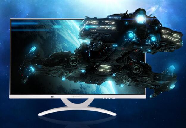天型者X320G网咖游戏一体机1080p全高清超窄边框显示器