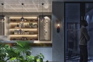 中国网咖走向世界:新西兰莆京电竞馆装修效果图