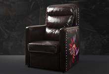 网咖沙发高靠背WF15-1网吧复古风格