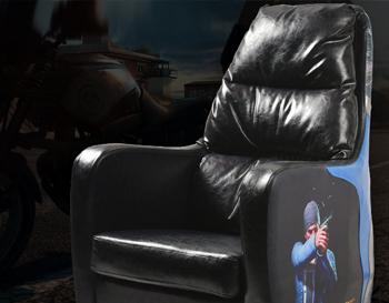 网咖沙发高靠背WF15-4网吧复古电竞吃鸡