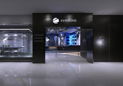 ZBM空间设计:办公空间―兼具办公+展厅