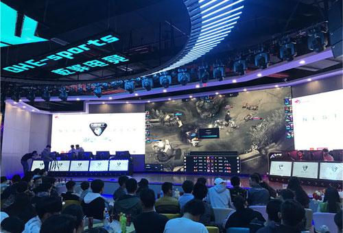 云南首家专业比赛级电竞中心开业 乾骅电竞馆