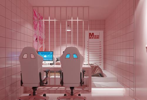 玩个性:V.A Club电竞酒店设计效果图