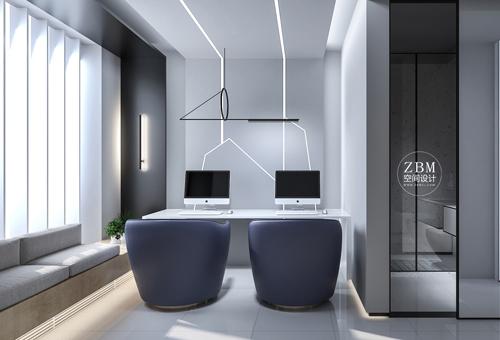 不一样的极简主义 甘肃电竞酒店设计案例