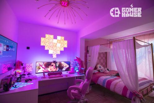 电竞主题民宿 Gamer House游戏舍让你享受公主般的舒适体验